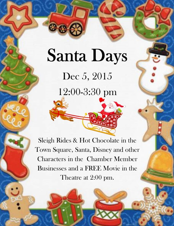 Santa Days Poster