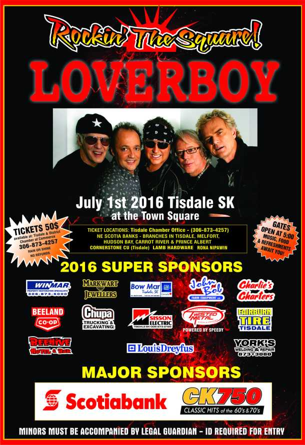 LoverBoy Poster  Tickets 2016 (2)